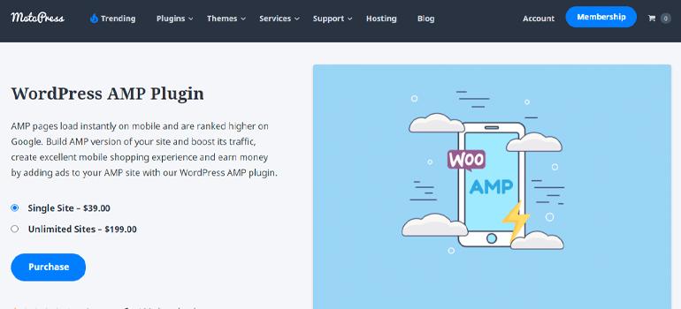 WordPress amp plugins four