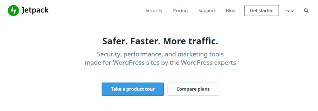 WordPress backup plugin - Jetpack