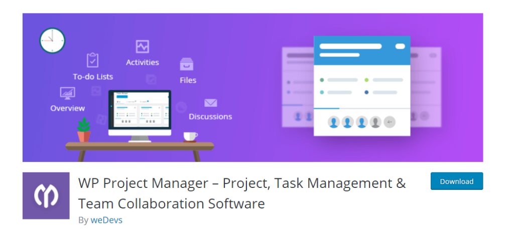 WordPress Project Management Plugins - WP Project manager
